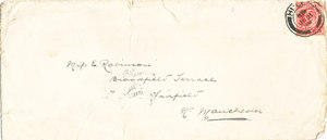 Image of Envelope containing a letter by William Colbeck DUNIH 1.010