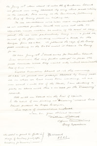 Image of Letter from William Colbeck to Sir Clements Markham DUNIH 1.014