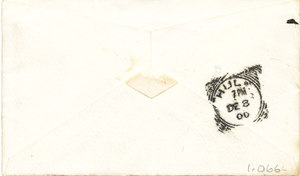 Image of Envelope addressed to Colbeck DUNIH 1.066
