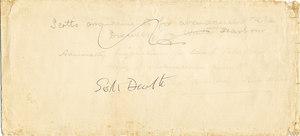 Image of Envelope entitled 'Scott's death' DUNIH 1.077