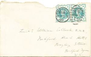 Image of Envelope containing letter from Sir Clements Markham DUNIH 1.083