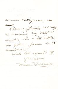 Image of Copy of letter written to Ernest Shackleton DUNIH 1.109
