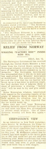 Image of Article re. 'Southern Princess' offer of assistance to Byrd DUNIH 1.304