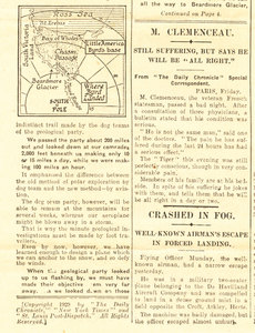 Image of Article re. the rescue of Byrd's Expedition DUNIH 1.327