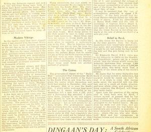 Image of Article re. Ernest Joyce's polar memories DUNIH 1.328