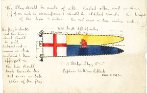 Image of Sledge flag of William Colbeck DUNIH 1.499