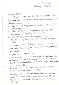 Image of Letter to Colbeck re. details of expedition DUNIH 1.562