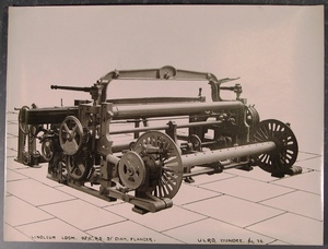 Image of Textile machinery - Linoleum Loom DUNIH 2005.8.1