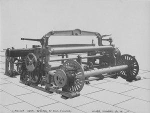 Image of Textile Machinery - Linoleum Loom DUNIH 2005.8.3