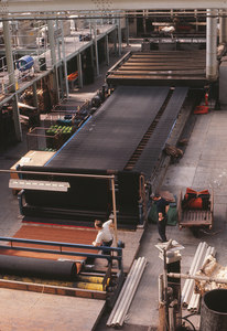 Image of Rubber backing machinery at Tay Carpet Works DUNIH 2006.1.75.35