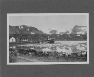 Image of R.R.S. William Scoresby' at Grytviken, South Georgia DUNIH 2008.60.3