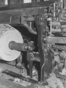 Image of Relating to health and safety at the mills- Carpet Loom DUNIH 2008.7.7