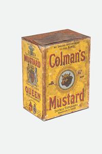 Image of Colman's Mustard Powder DUNIH 2009.61
