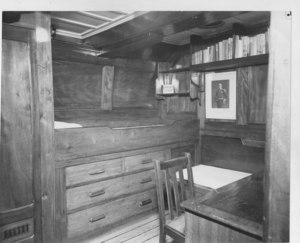 Image of Captain Scott's cabin aboard Discovery DUNIH 2010.11.6
