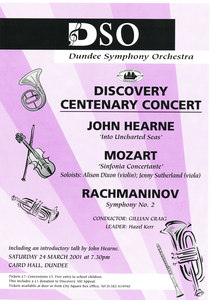 Image of Dicovery Centenary Concert DUNIH 2010.46.2