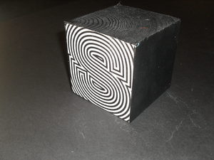 Image of Cube embellished with the letter 'S' DUNIH 2011.1.80.10