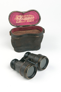 Image of Captain Colbeck's binoculars DUNIH 209