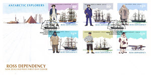 Image of New Zealand Post First Day Cover, Ross Dependency. DUNIH 250