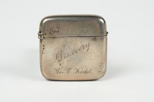 Image of Silver Vesta box DUNIH 300