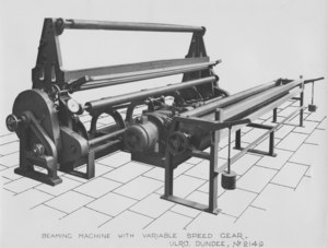 Image of ULRO - Beaming machine with variable speed gear DUNIH 393.37