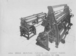 Image of ULRO - High speed beaming machine for carpet yarns DUNIH 393.40