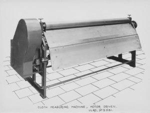Image of ULRO - Cloth measuring machine DUNIH 394.172