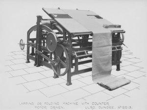 Image of ULRO - Lapping or folding machine DUNIH 394.177
