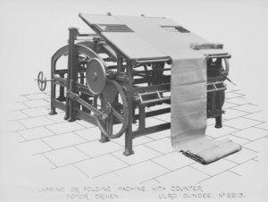 Image of ULRO - Lapping or folding machine DUNIH 394.178