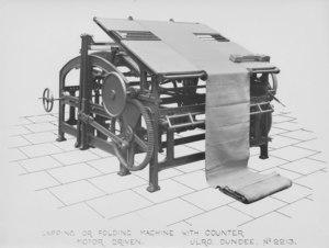 Image of ULRO - Lapping or folding machine DUNIH 394.179