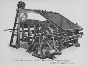 Image of ULRO - Lapping or folding machine with bag cutting DUNIH 394.180