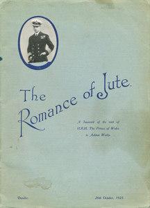 Image of The Romance of Jute - Souvenier Royal visit DUNIH 407.4