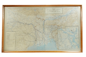 Image of Map, Inland Waterways of North East India, 1947 DUNIH 417