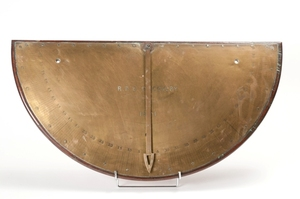 Image of Inclinometer for measuring tilt of the ship. DUNIH 436