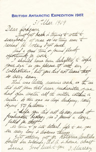 Image of Letter to Thomas Hodgson from James Murray  K 12.6