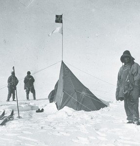 Image of Amundsen's tent at the South Pole ROY.30.2.48