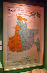 Image of Map of Boundary Commission Award of Bengal DUNIH 2013.23