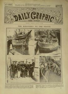 Image of The Daily Graphic - rescue of Shackleton DUNIH 2010.21