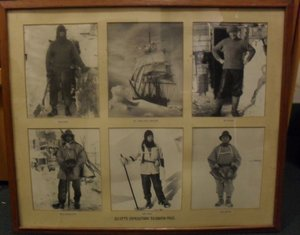 Image of Framed collection of photographs of Scott's 1910-12 expedition. DUNIH 2014.21.2