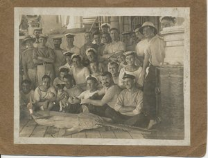 Image of Photograph of the crew of HMS Venus DUNIH 2016.30.21