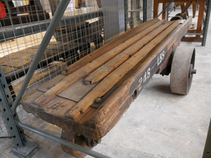 Image of Wooden Beam Barrow DUNIH 2015.40