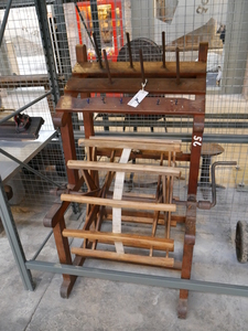 Image of Wooden Hand Reeling Machine DUNIH 2015.42