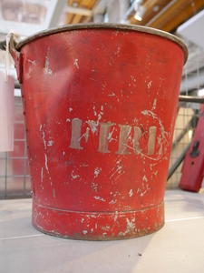 Image of Fire Bucket DUNIH 2015.52