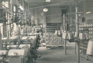 Image of Photograph of Cop Winding Department at Bowbridge Works, 1967 DUNIH 2017.13.1