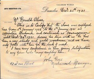 Image of Reference letter for Ronald Oliver DUNIH 2017.14.6