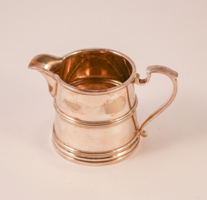 Image of Silver plated cream jug DUNIH 2011.36.2