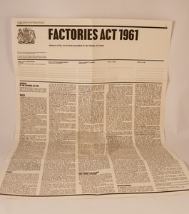 Image of Factories Act 1961 DUNIH 2010.3
