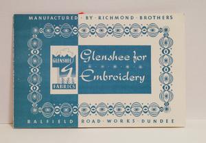 Image of Sample booklet relating to Glenshee Fabrics DUNIH 2017.19.3