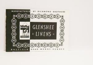 Image of Sample booklet relating to Glenshee Fabrics DUNIH 2017.19.4