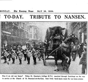 Image of The Evening News 19.5.1930. Dunih 2009.46.3