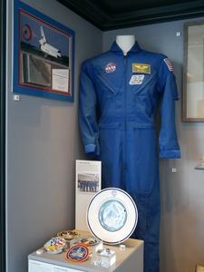Image of NASA flight suit belonging to astronaut James F. Reilly DUNIH 2018.5.1
